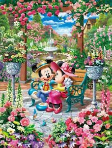 *Pre-order* Tenyo Blooming Love Royal Garden 500 pc puzzle (ETA November)