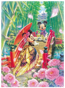 Tenyo Mickey & Minnie's Miyabi Wedding Dream 266 Pc Puzzle
