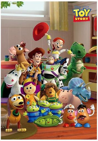 *Pre-order* Tenyo Toy Story To New Friends 500 Pc Puzzle (ETA July)