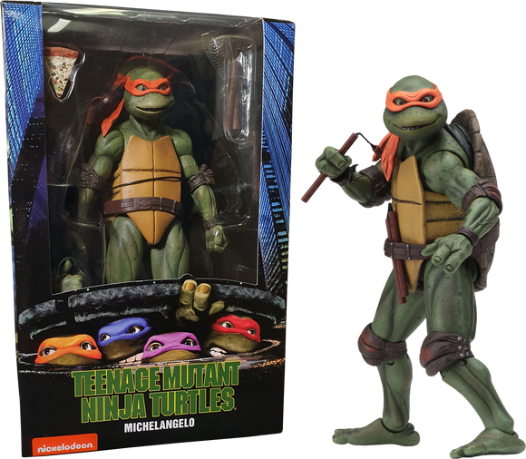 Teenage Mutant Ninja Turtles (1990) - Michelangelo 7