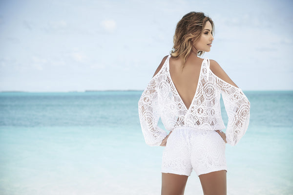 Cover-up Romper