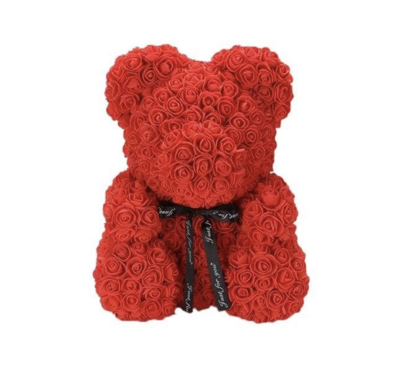 Lge  Rose Teddy Bear