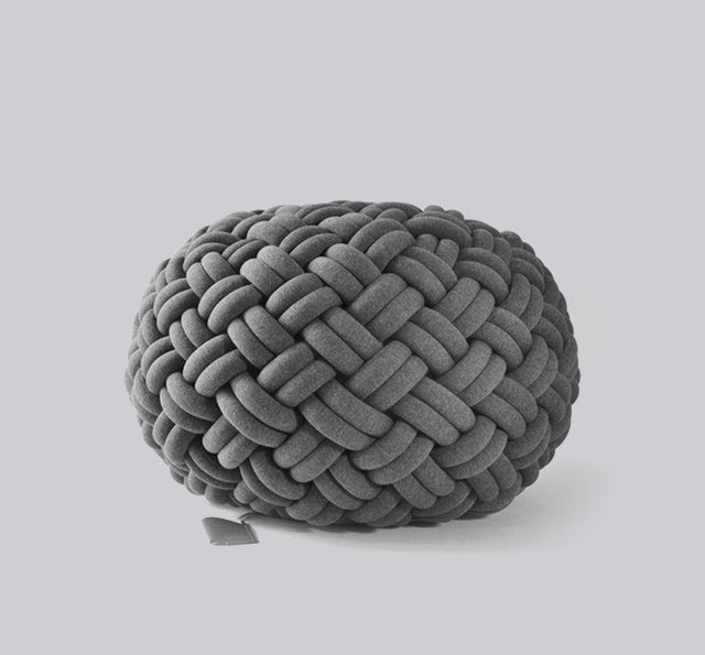 Knotty floor cushion