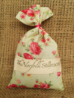 Just Lavender Wardrobe Sachet - Mint