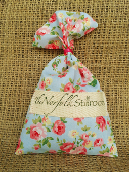 Just Lavender Wardrobe Sachet - Blue