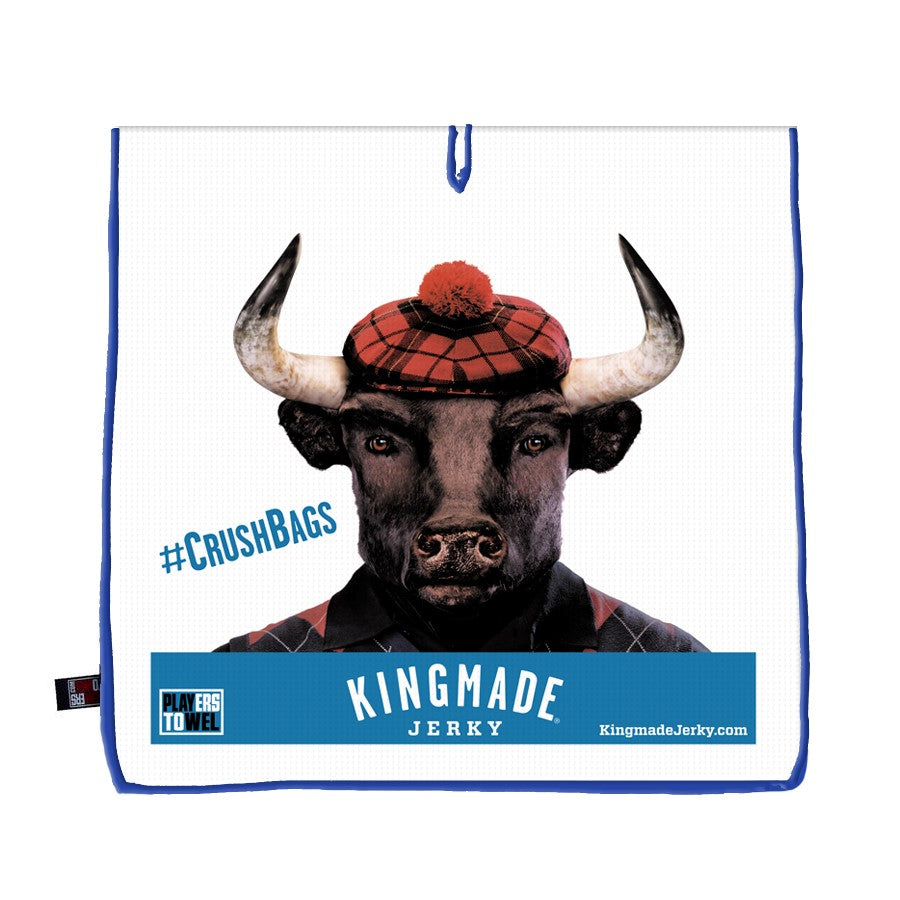 Kingmade Jerky Players Towel - Arnie
