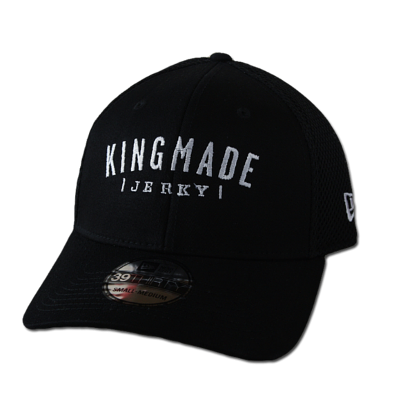 "Kingmade Jerky Hat - New Era ""39-Thirty"" Stretch Mesh"