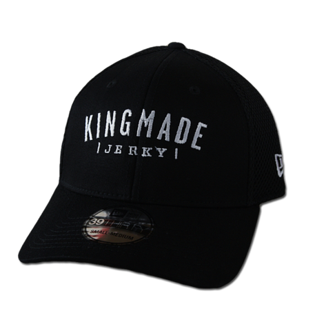 "Kingmade Jerky Hat - New Era ""39-Thirty"" Stretch Mesh - Kingmade Jerky  - 1"