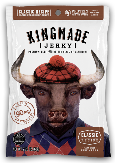 Crusher Club - Classic Recipe - 6 Pack - Kingmade Jerky  - 1