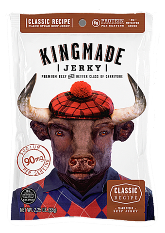 Classic Recipe - Retailer Case (18 count) - Kingmade Jerky  - 1