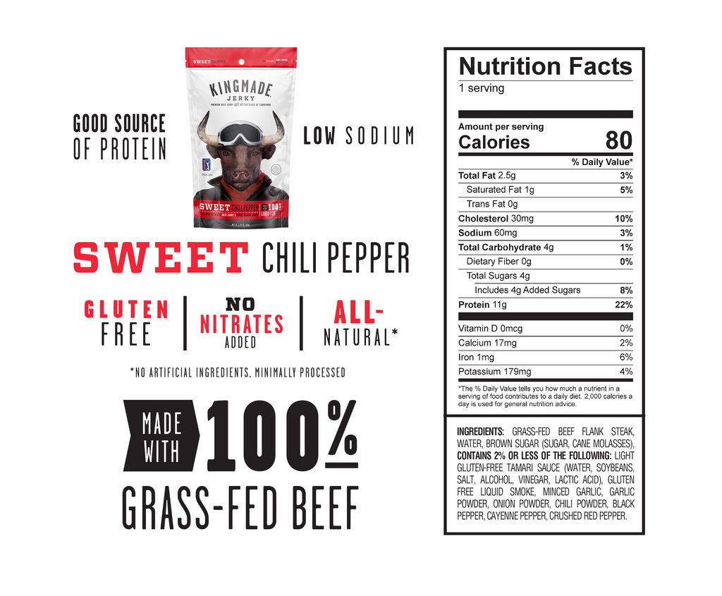 Sweet Chili Pepper - 18 Pack of 2.25oz bags