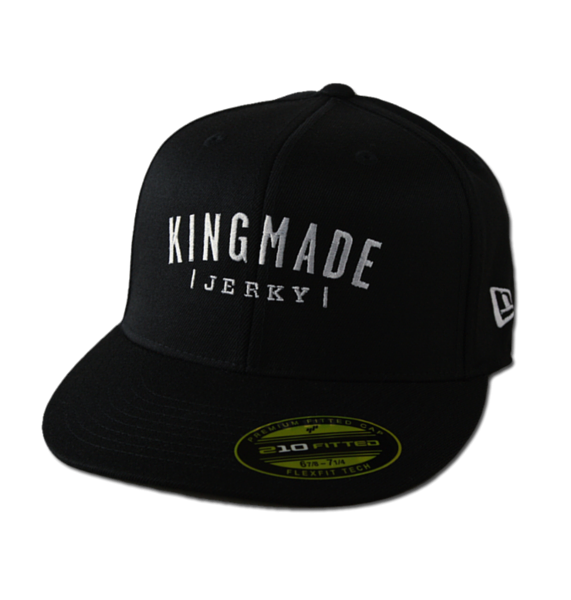 "Kingmade Jerky Hat - New Era ""59-Fifty"" Flat Bill Baseball Hat"