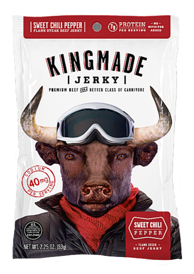 Sweet Chili Pepper - 6 Pack - Kingmade Jerky  - 1