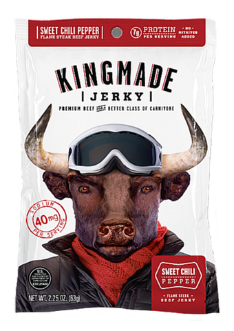Sweet Chili Pepper - 12 Pack - Kingmade Jerky  - 1