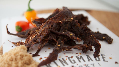 Sweet Chili Pepper - 6 Pack - Kingmade Jerky  - 2