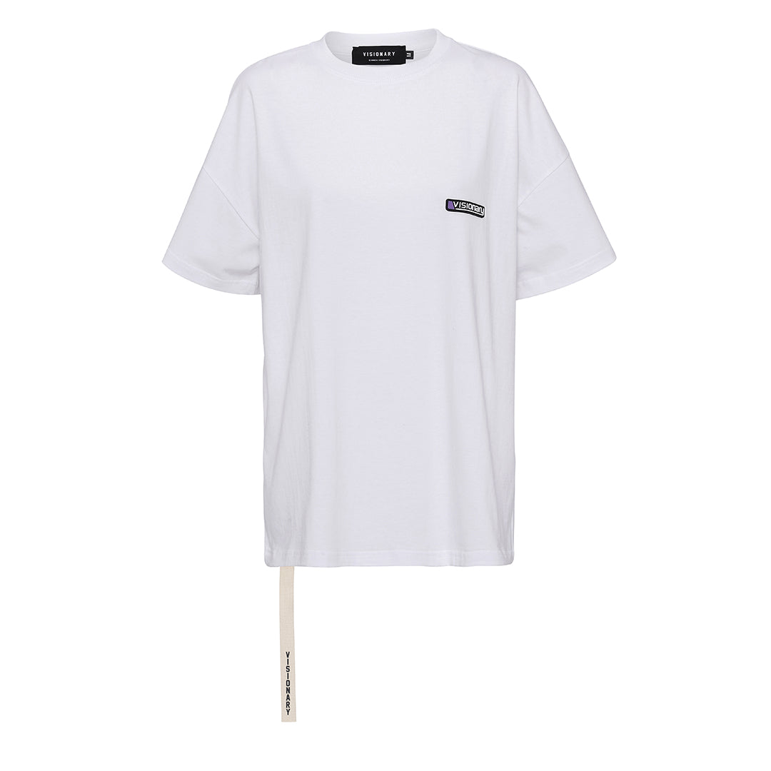 Strapped Logo Tee