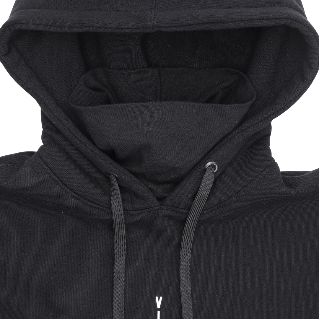 Technical Hoodie with Neckwarmer