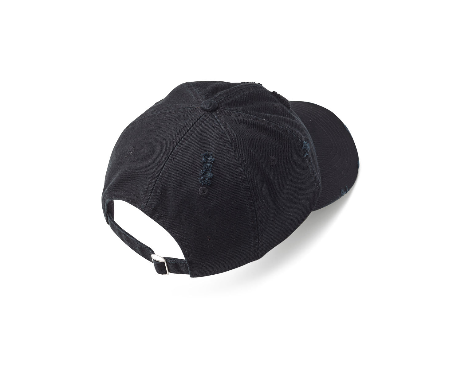 Classic Distressed Cap - Black