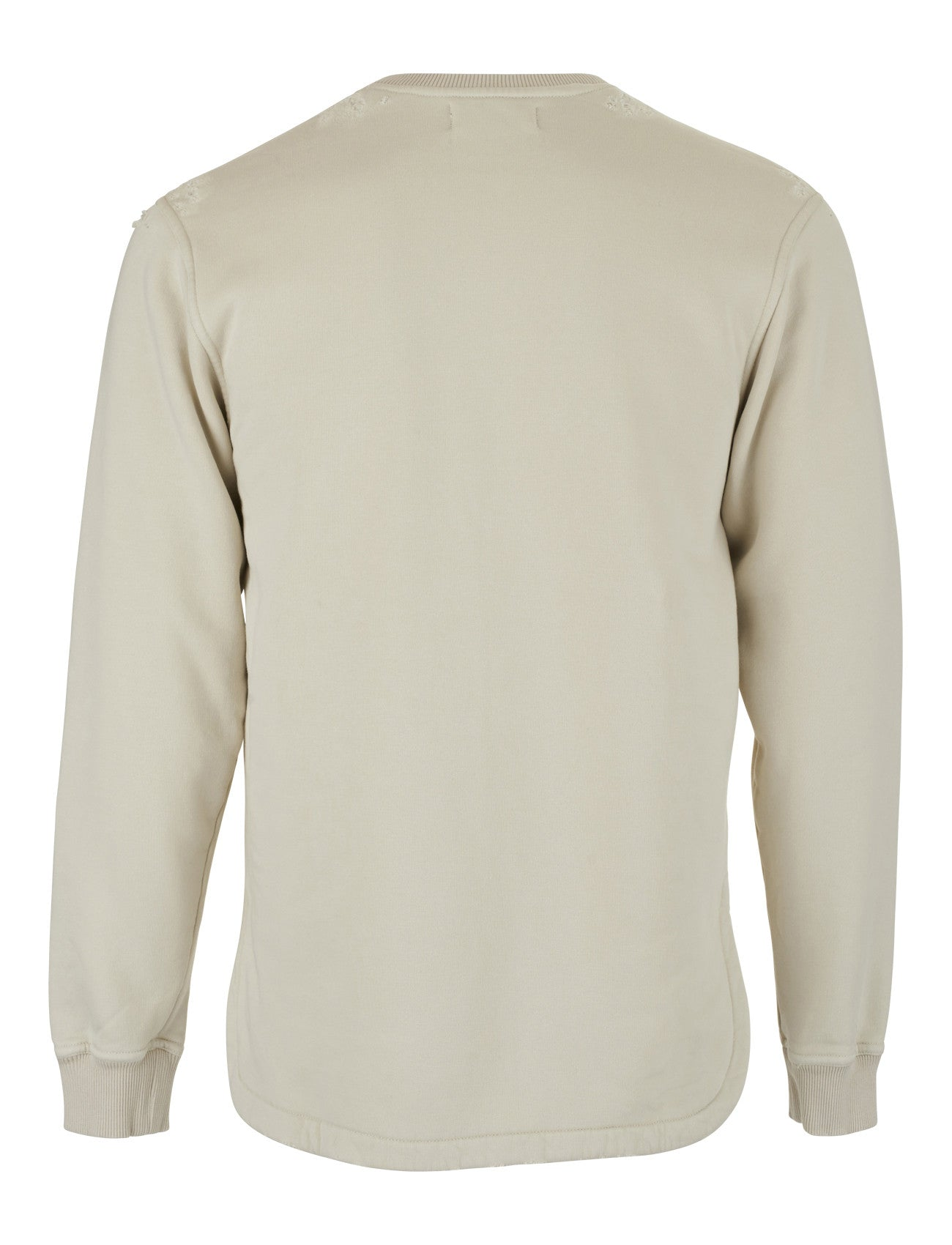 Distressed Crewneck - Desert
