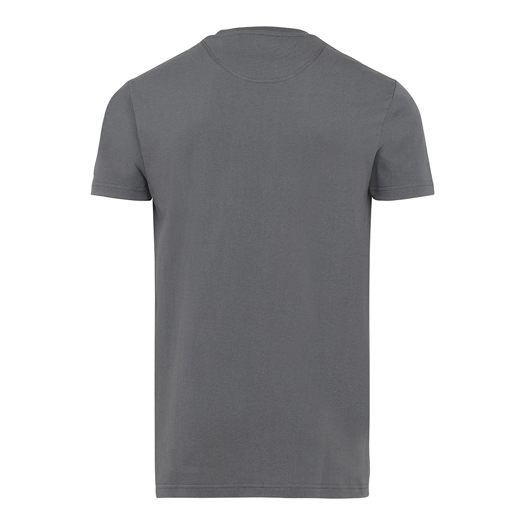 Basic Label T-Shirt - Wolf Grey