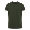Basic Label T-Shirt - Olive