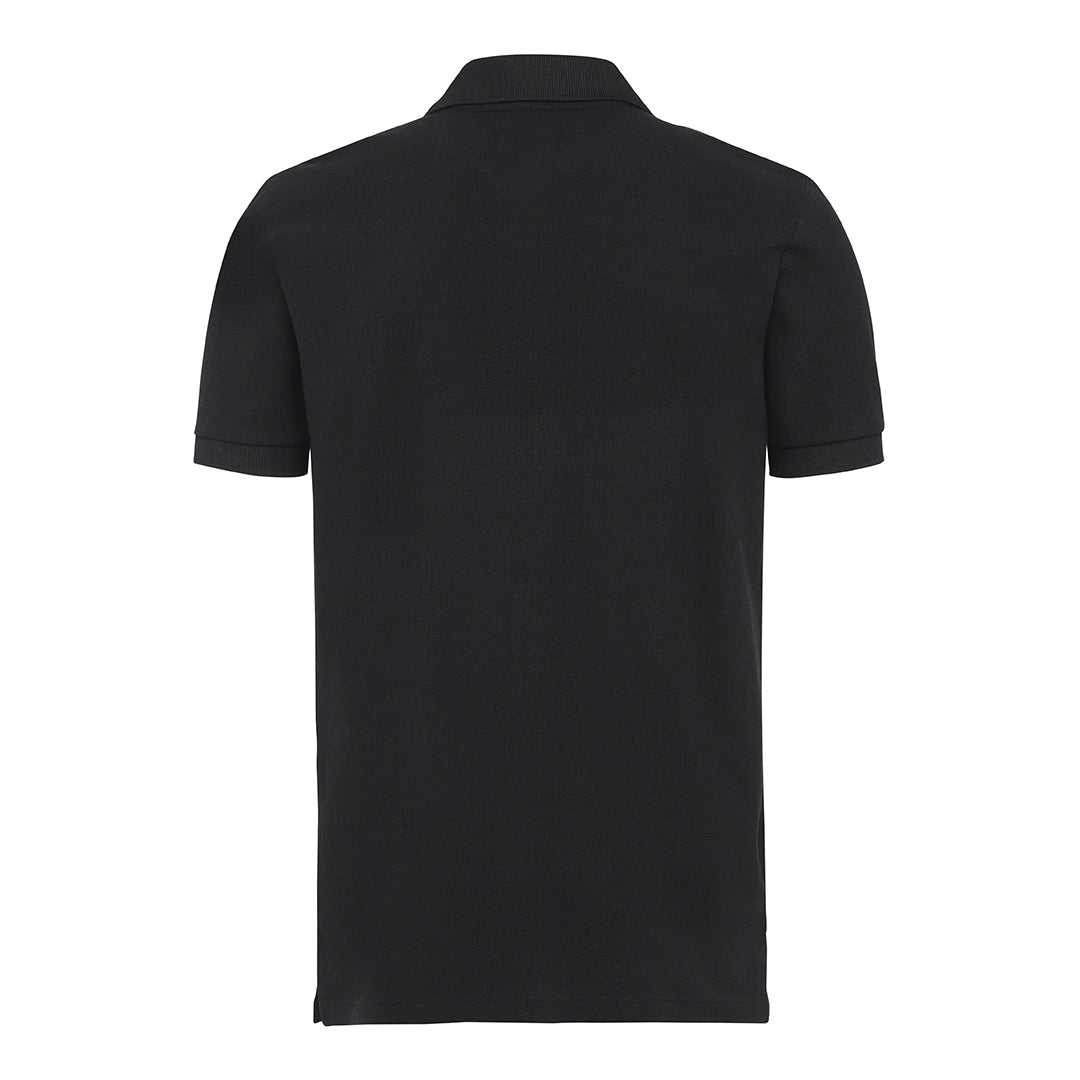 Basic Label Polo - Black