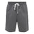 Wolf Grey Taped Logo Shorts