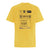 CareLabel© T-Shirt - Yellow