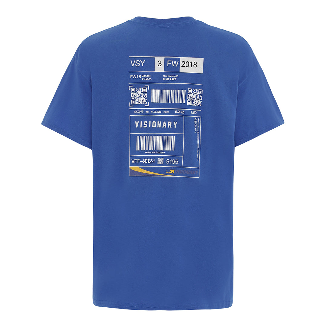 CareLabel© Tee - Blue
