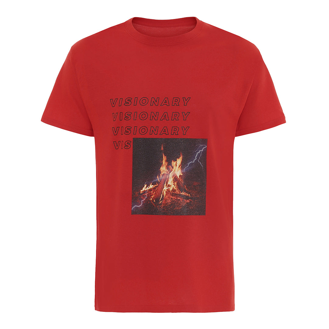 CampFire© Tee - Red