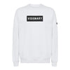 White Box Logo Crewneck