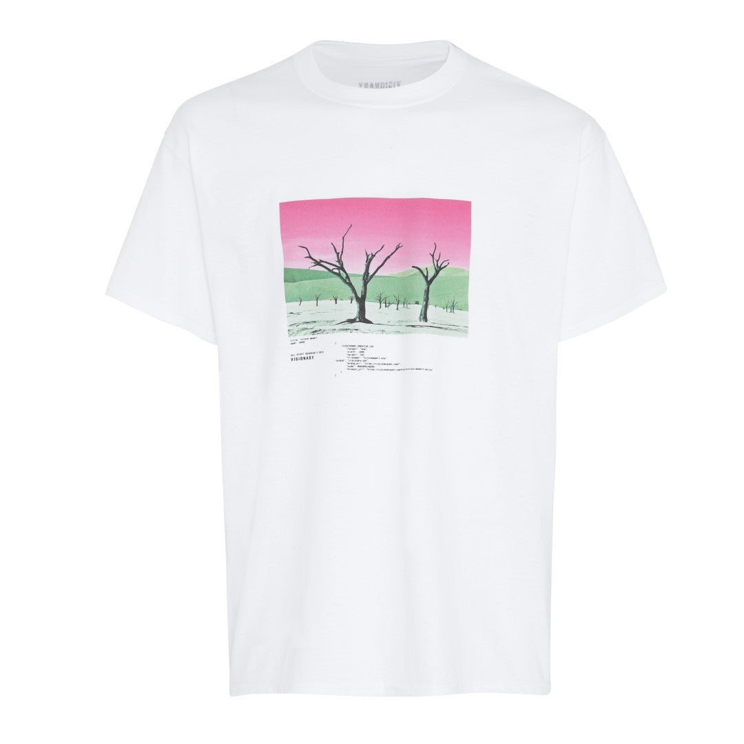 Future Desert T-Shirt - White