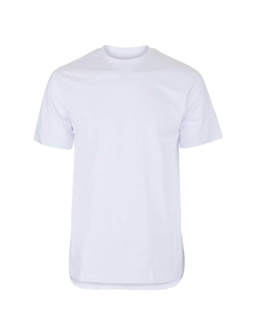 Rounded T-Shirt - Blanc