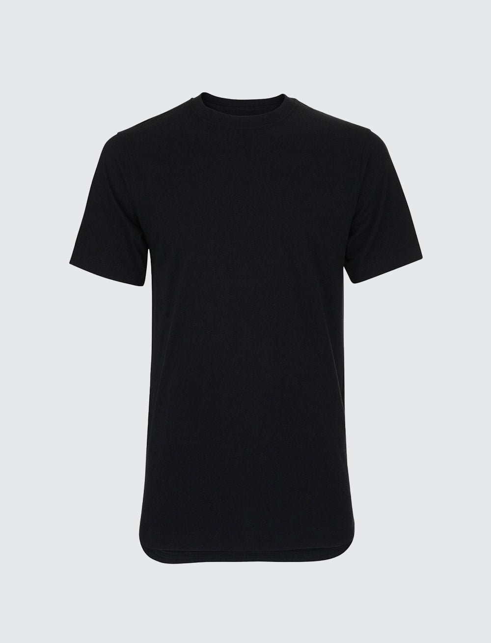 Rounded T-Shirt - Noir
