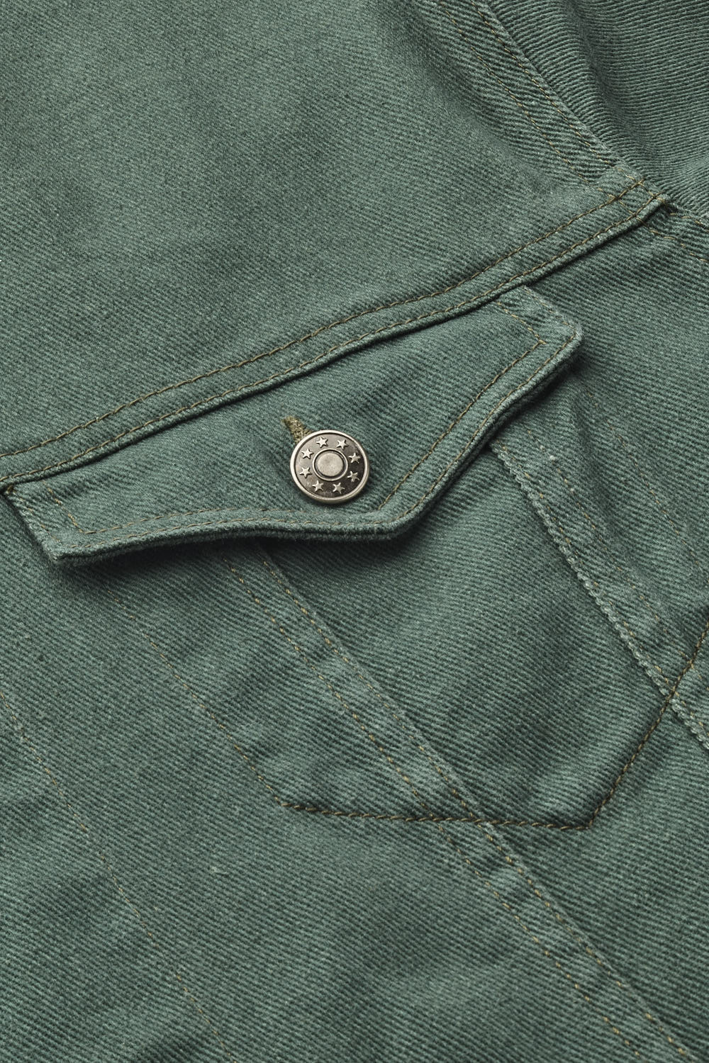 Denim Jacket - Moss