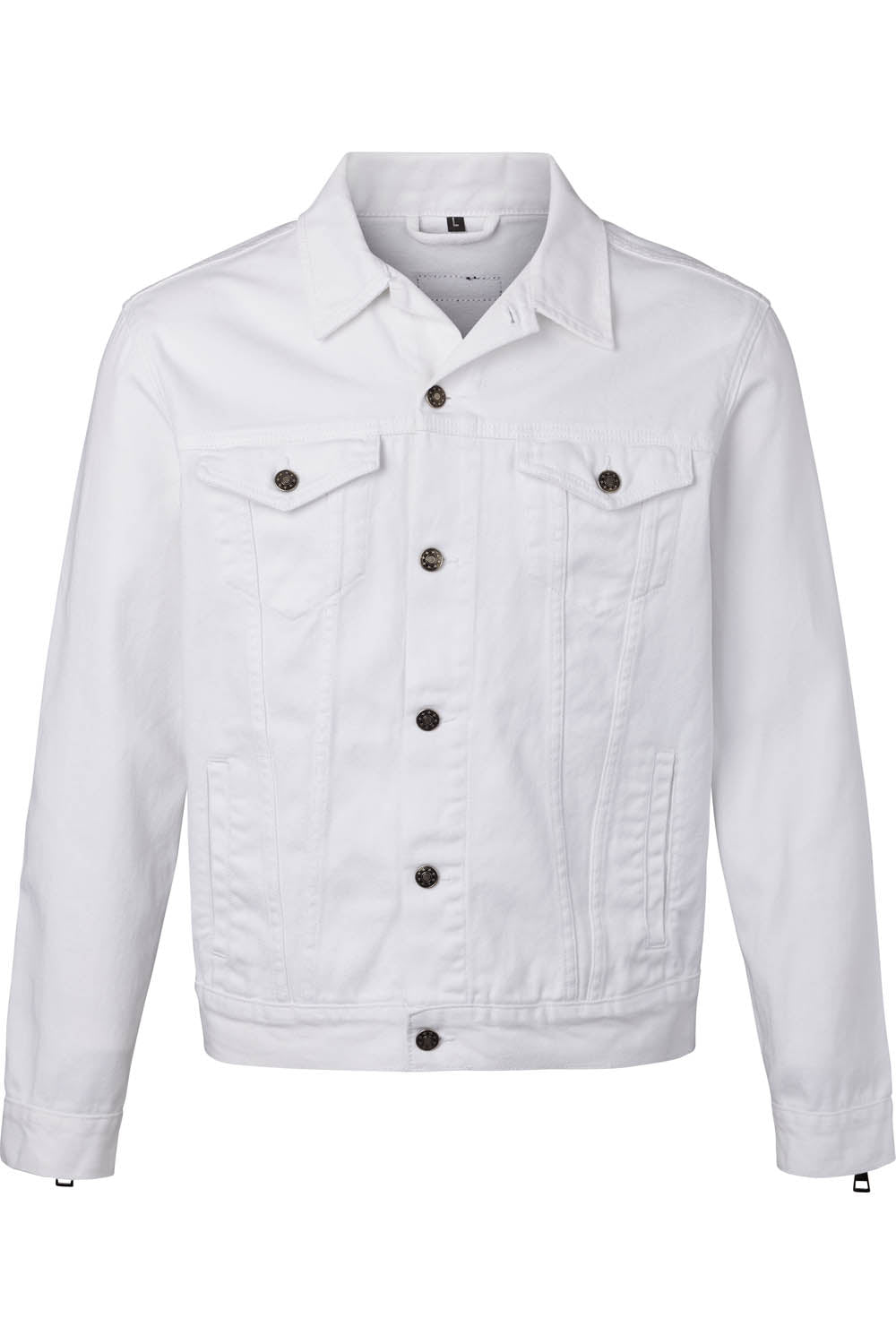 Denim Jacket - Blanc