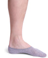 Grey no show socks 3 pack