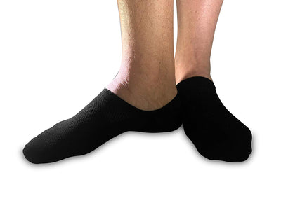 Stomper Joe No Show Low Cut Ankle Socks For Men Casual Liners 6 pack Bamboo Cushioned Sole