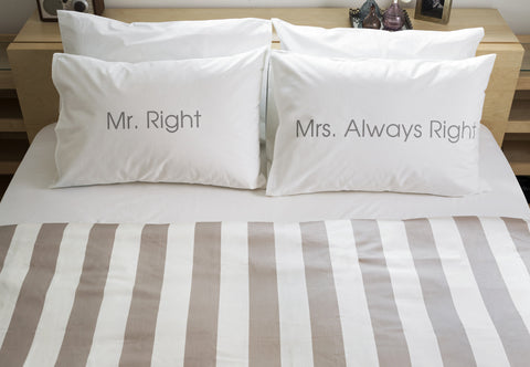 Mr. Right - Mrs. Always Right