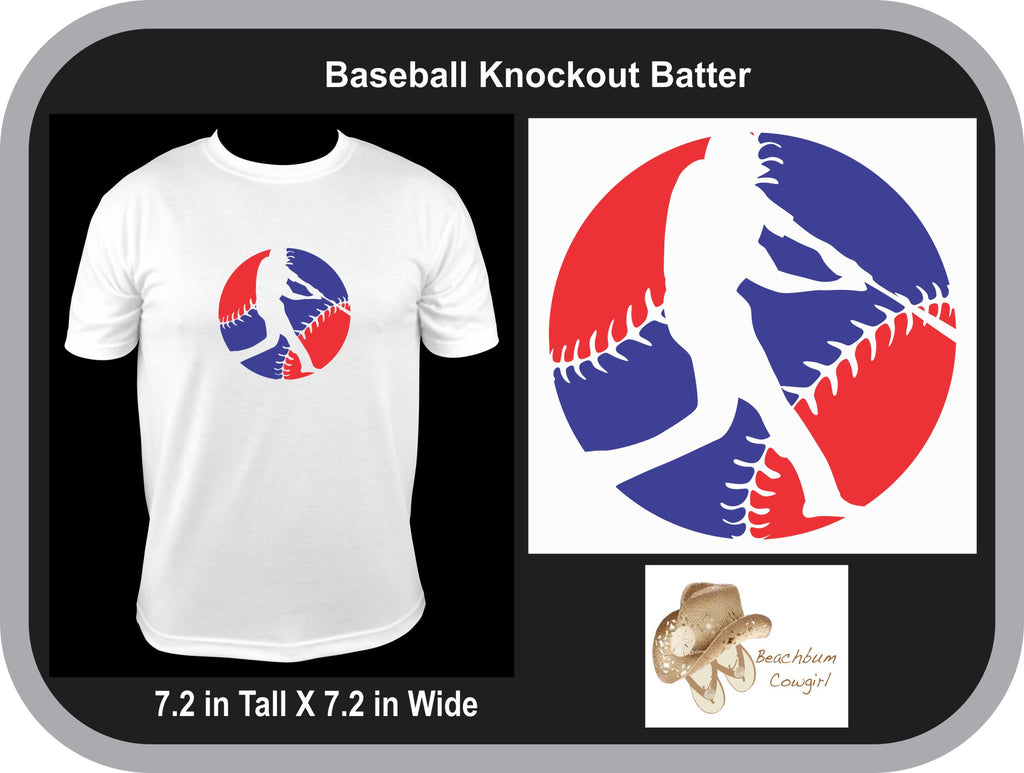 Baseball Knockout Batter