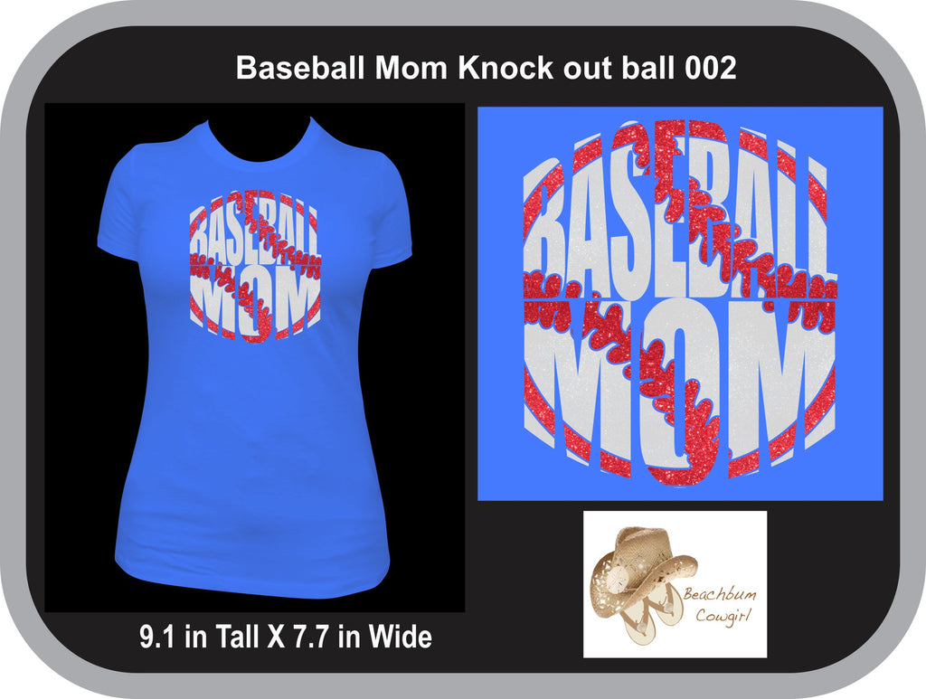 Baseball Mom Knockout Ball 002