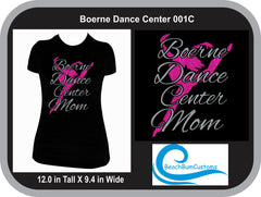 Boerne Dance Center Mom Leaping Dancer
