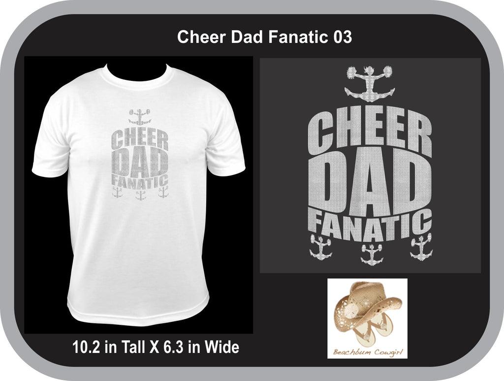 Cheer Dad Fanatic 003