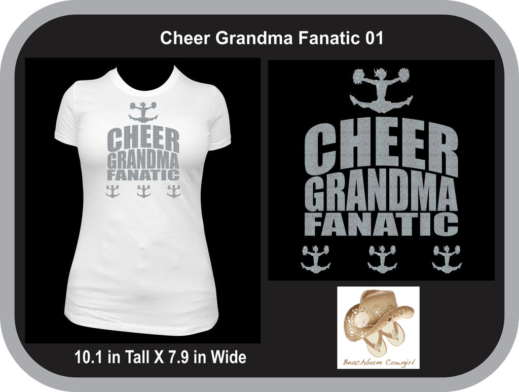 Cheer Grandma Fanatic 001