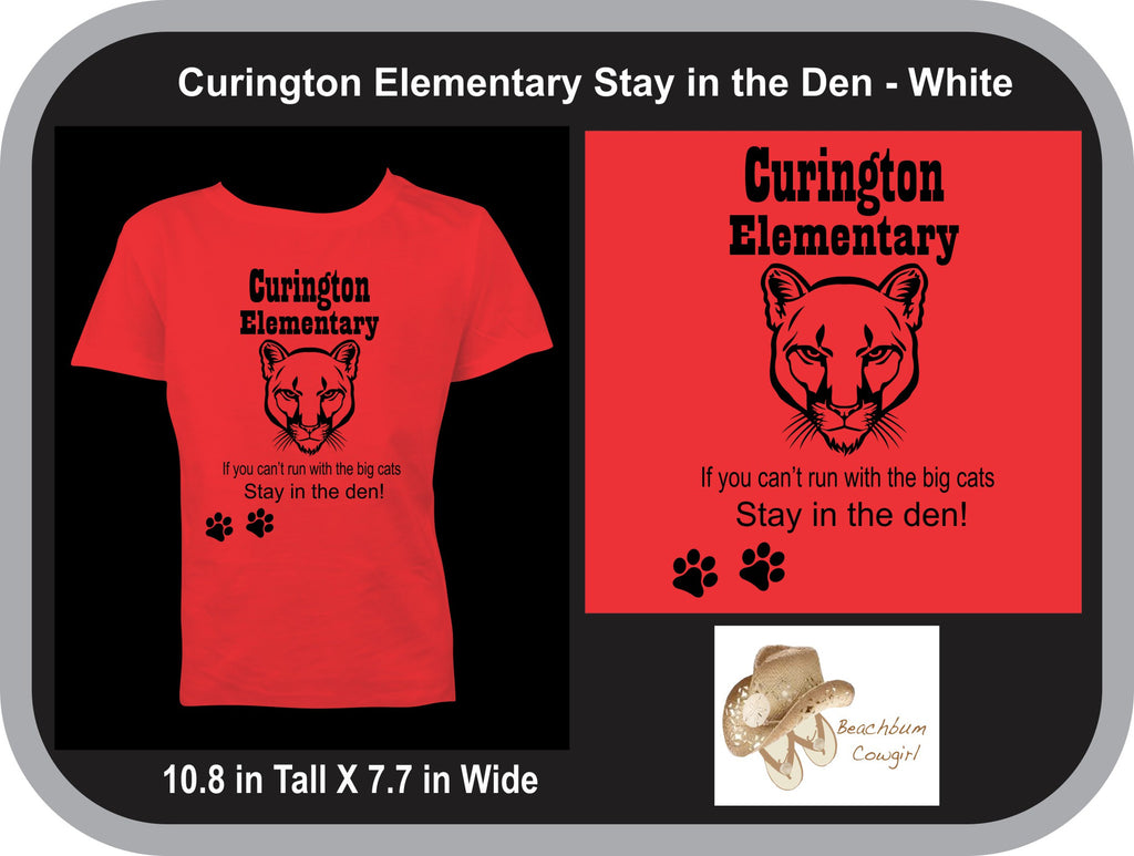 "Curington Cougars ""Stay in the Den"""