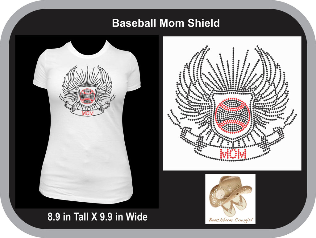 Baseball Mom Shield