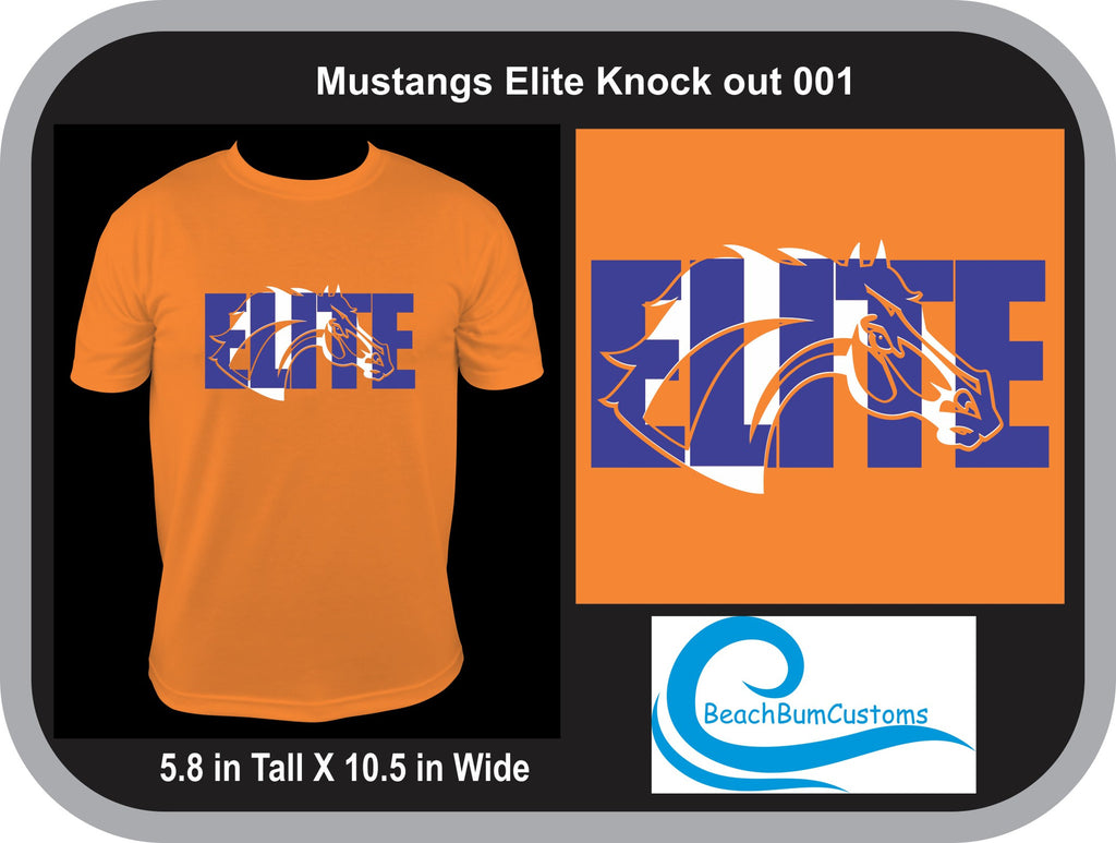 Mustangs Elite Knockout 001- Customized