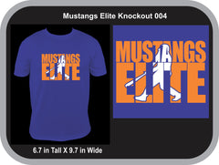 Mustangs Elite Knockout 004 - Customized