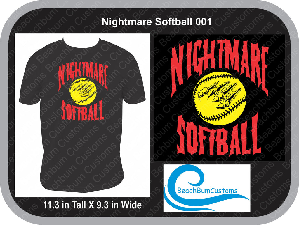 Nightmare Softball 001 Customized