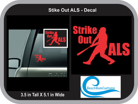 Stike Out ALS Decal